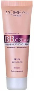 L'ORÉAL PARIS BB Cream FPS 20 Cobertura Natural Média 30ml