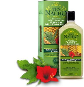 TIO NACHO Shampoo Antiqueda Fortalecedor Ervas Milenares 415ml