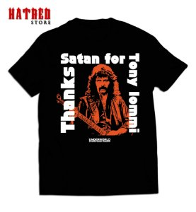 CAMISETA. V666 - Thanks Satan for Tony Iommi