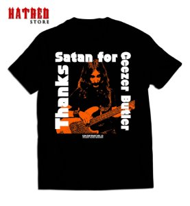 CAMISETA. V666 - Thanks Satan for Geezer Butler
