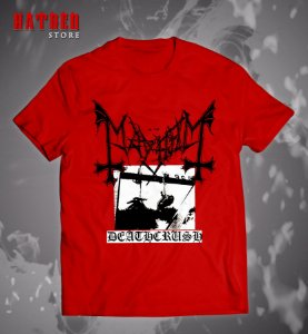 CAMISETA. MAYHEM - Deathcrush