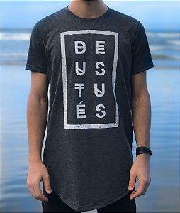 Long T-shirt Masculina - Deus Tu És