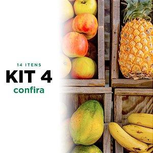 Kit 4 de Frutas - 13 itens