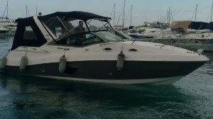 Lancha Focker 32 GT Parelha Mercruiser 220hp