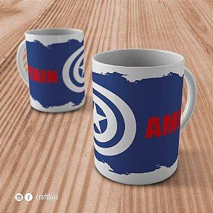 """Caneca """"Capitão América"""""""