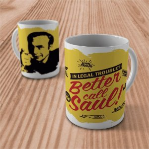 "Caneca ""Better Call Saul"""