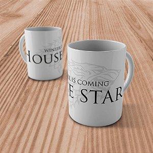 """Caneca """"House Stark"""""""