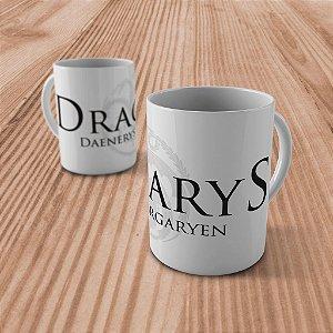 "Caneca ""Dracarys"" -Daenerys Targaryen"