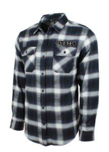 Black Mask Kustom Flannel - importada