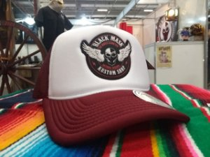 Boné Trucker Aba Curva - Black Mask Kustom Wings