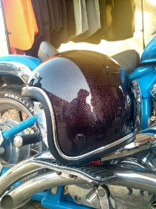 Capacete Black Candy Flake