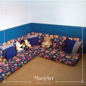 Decoração Personalizada com futons