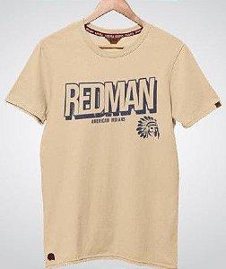 Camiseta Red Man Bege