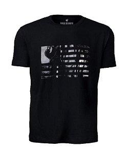 Camiseta Made in Mato Flag Preta