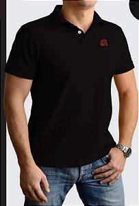 Camisa Pólo Red Man Preta