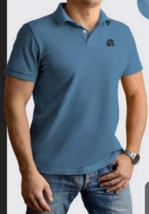 Camisa Pólo Red Man Azul