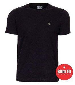 Camiseta Made in Mato Confort Slim Fit Preto