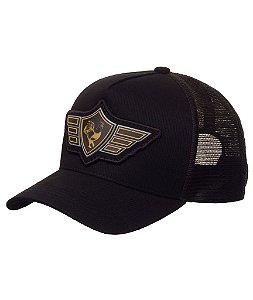Boné Made in Mato Wings Black