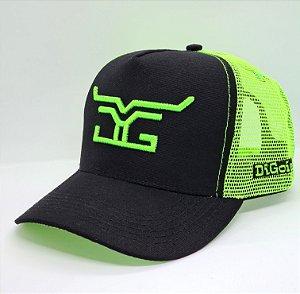 Boné DiGoias Verde Neon