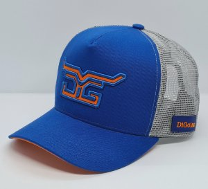 Boné DiGoias Logo Azul