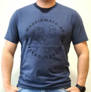 Camiseta Made in Mato Rooster Marinho