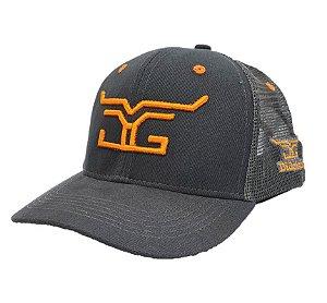 Boné DiGoias Gray/Orange
