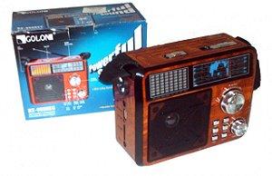 Rádio Portátil AM/FM/Card/Pendrive