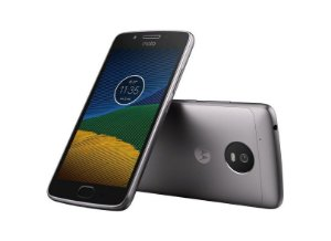 Motorola Moto G5 - Platinum Leitor Digital 32gb Ram 2gb