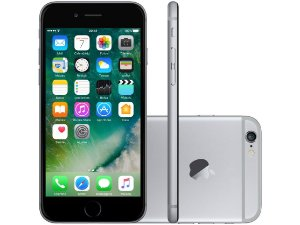 iPhone 6s - 16GB Preto ( 30 dias de uso )