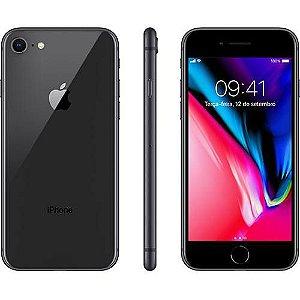 "iPhone 8 Cinza Espacial 64GB Tela 4.7"" IOS 11 4G Wi-Fi Câmera 12MP - Apple"