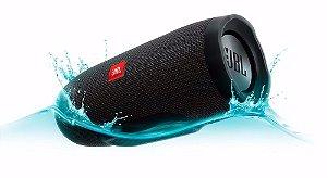 Jbl Charge 3 Bluetooth Caixa De Som Portátil Original Preta