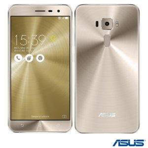 ZENFONE 3 DOURADO ASUS, COM TELA DE 5.5, 4G, 64 GB E CAMERA DE 16 MP