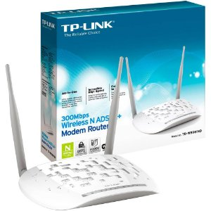 Modem Roteador 2 Antenas TP-Link - 300Mbps ( CTBC )
