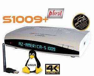 AZAMERICA S-1009 PLUS - IKS E SKS - 4K, WIFI, ACM