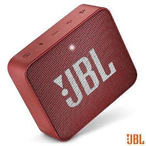 Caixa Bluetooth JBL GO2 Vermelha com Potência de 3 W