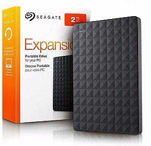 HD Externo 2 TB Seagate Original