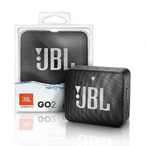 Caixa de Som JBL GO 2 Bluetooth Preto 3w Rms