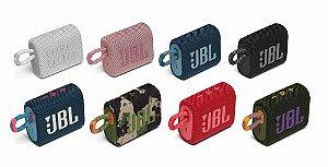 JBL GO 3 Caixa de som portátil à prova d'água - 4.3w