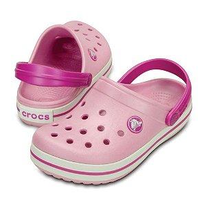 Crocs Crocband Kids Rosa e Orquidea