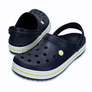 Crocs Crocband Azul e Citrus