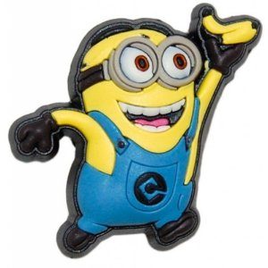 Bottom Jibbitz 3D Minions Davi