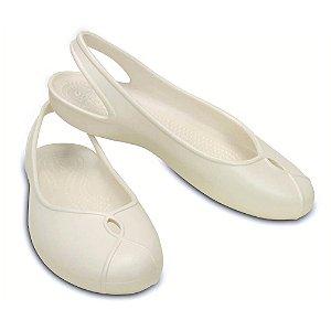 Crocs Olivia Flat Branco