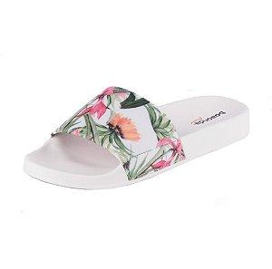Boaonda Slide Floral Branco