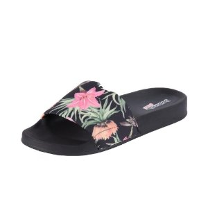 Boaonda Slide Floral Preto