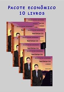 Pacote econômico 10 livros Escritores contemporâneos (Contos)