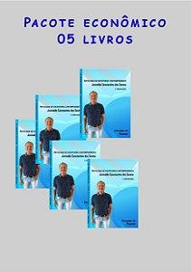 Pacote econômico 5 livros Escritores contemporâneos (poesias)