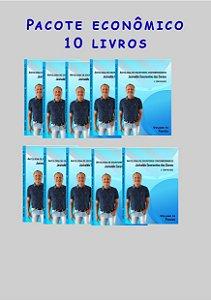 Pacote econômico 10 livros Escritores contemporâneos (poesias)