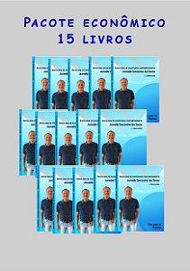 Pacote econômico 15 livros Escritores contemporâneos (poesia)