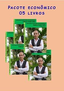 Pacote econômico 05 livros Escritores contemporâneos (Poemas de fevereiro)