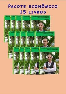 Pacote econômico 15 livros Escritores contemporâneos (Poemas de fevereiro)
